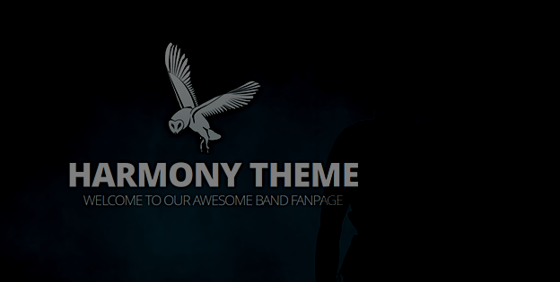 Responsive WordPress Theme No.6- Harmony Band