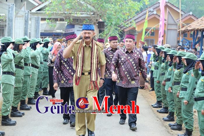 Desa Tri Rahayu Wakili Pesawaran Lomba Desa Tingkat Provinsi