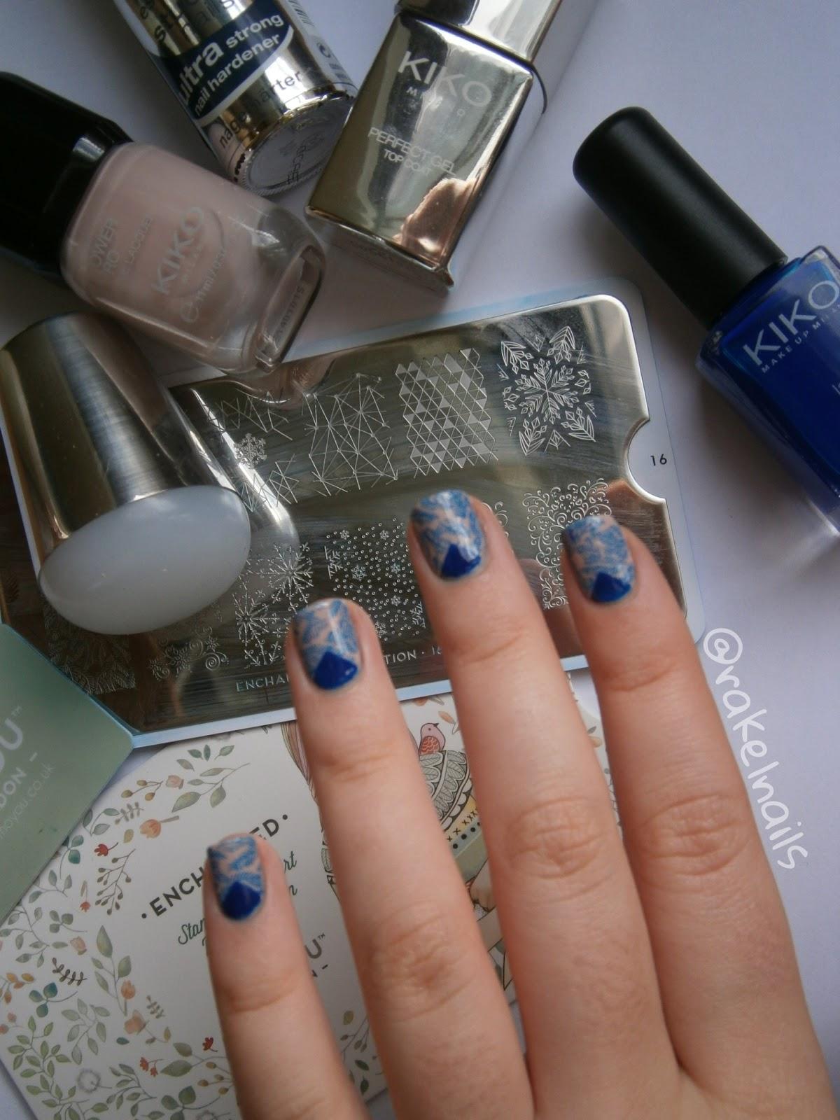 Rakel Nails Review Esmaltes Kiko Power Pro Y Moyou Nail Art
