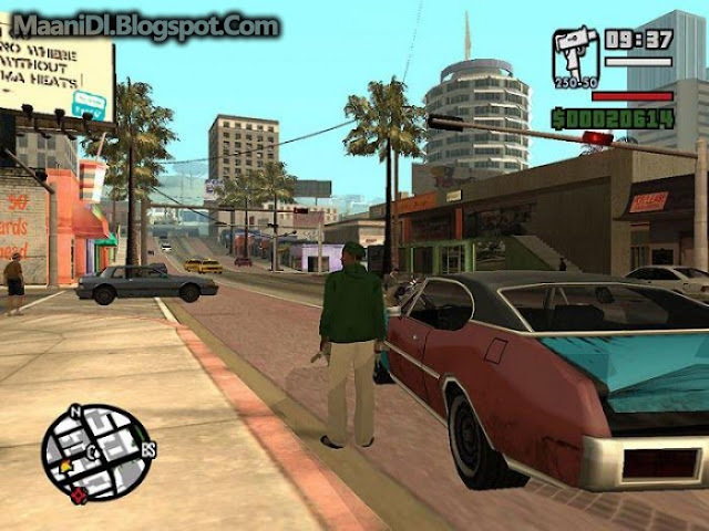 GTA San Andreas Highly Compressed (612MB) For PC