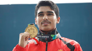 Saurabh Chaudhary wins India's first gold medal in the shooting event