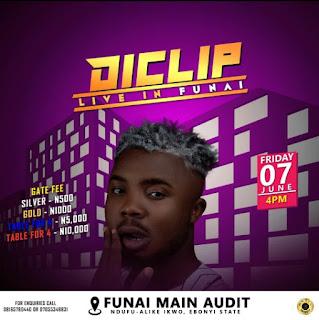 Diclip Live in Funai