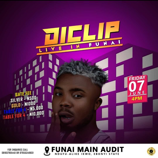 """Pompous"" Crooner, Diclip Set To Shut Down AE-Funai On Friday 7th June"