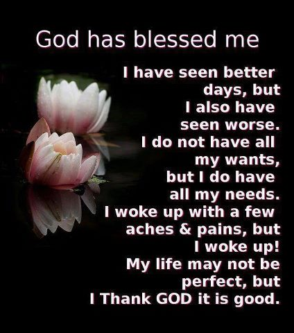God Has Blessed Me Quotes And Sayings