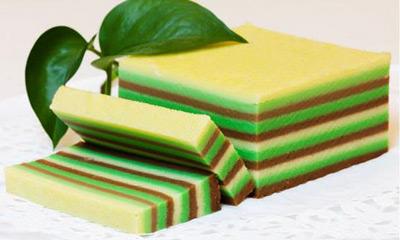 Cara dan Resep Membuat Kue Lapis Tepung Beras Manis, Kenyal dan Menawan