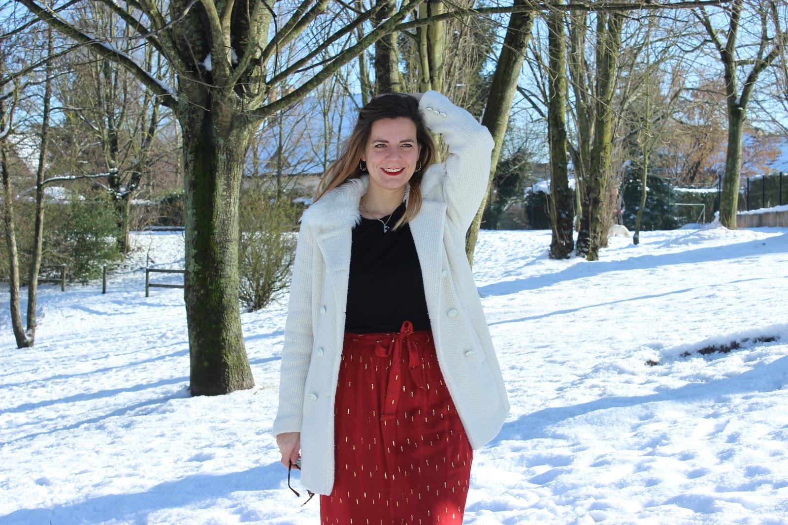 Look dans la neige, sezane les petites bulles de ma vie