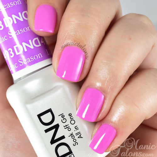 Daisy Duo Gel Polish Lilac Season Swatch