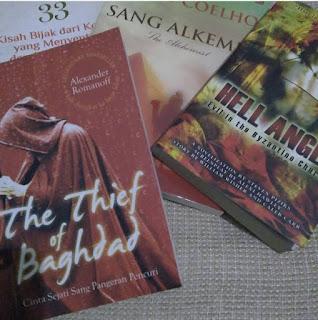 buku hasil beli dari bazar palangkaraya