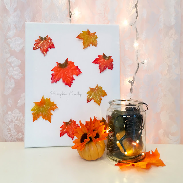 5 Minute Cute Easy Diy Fall Room Decor Ideas Pumpkin Emily