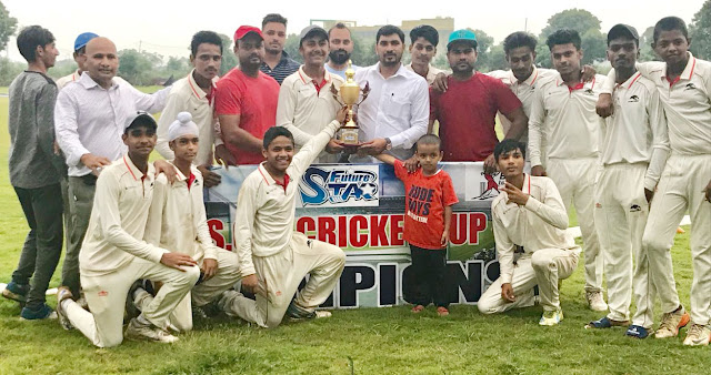 UP Panther wins match in under-15 cricket competition at FSCA Cricket Academy