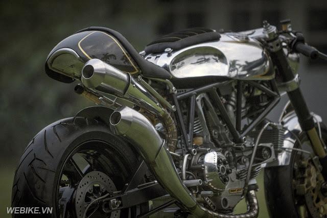 Ducati SS900 độ Cafe Racer: Nghệ thuật của cơ khí