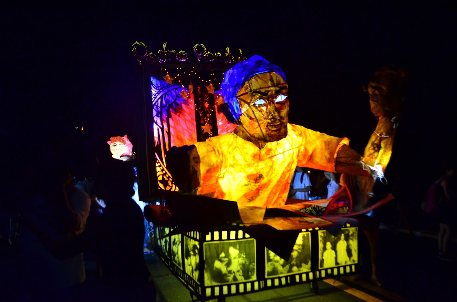 Lantern Parade 2015 float