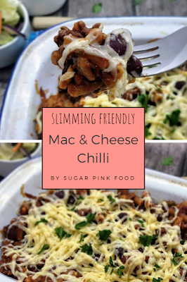 Slimmming world friendly mac and chilli cheese fakeaway recipe