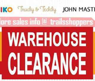 Kiko & Baby Kiko Warehouse Clearance Sale 2017