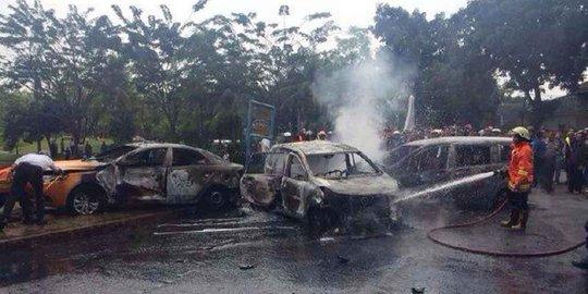 2 Korban Mobil Terbakar Di Bintaro Masih Jalani Perawatan