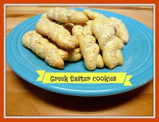 Greek Easter Cookie printable recipe