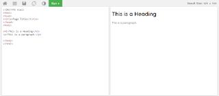 học ngôn ngữ html tại w3school.com