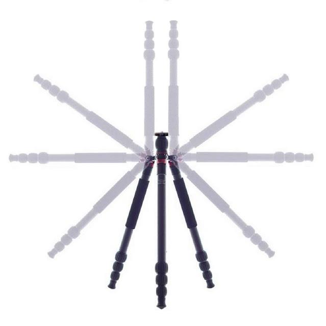 180° folding legs schema