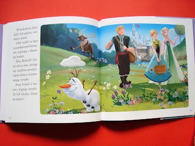 moje bajeczki o Annie i Elsie, Kraina Lodu, książka dla przedszkolaka i starszaka, Frozen ksiażka