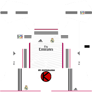 Real Madrid Kits 2014/2015 - Dream League Soccer