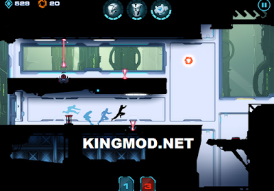 Vector 2 MOD Full Unlocked Unlimited Money v0.9.0 APK terbaru