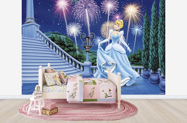 Lastenhuoneen Tapetti Prinsessa Tapetti Cinderella Disney
