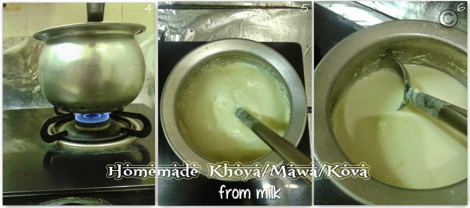 how-to-make-khoya-at-home