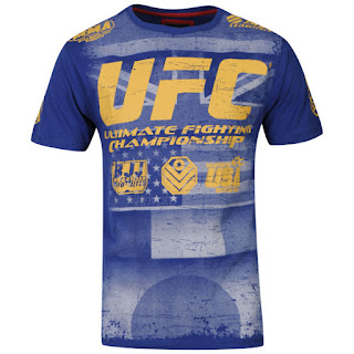 UFC Men's Bational T-Shirt - Blue