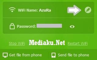 Ganti Nama WiFi Baidu Hotspot