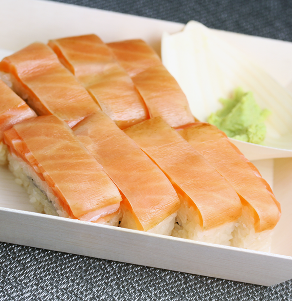 Salmon Sushi, Boxed Pressed Sushi