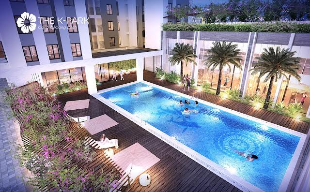 Bể bơi ngoài K-Pool