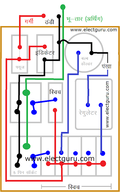electric baord wiring diagram