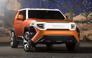 2017 Toyota FT-4X SUV Concept