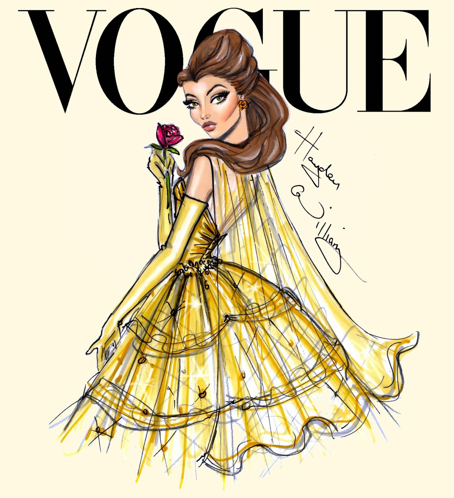 Disney: Hayden Williams Fashion Illustrations: December 2013