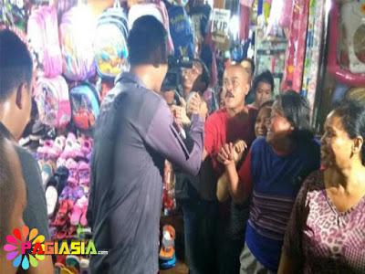 Pedagang di Pasar Tomang Barat dan Pasar Senen Kecewa yang datang Bukan Ahok Tapi Agus Yudhoyono