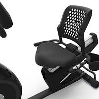 Nautilus R616 ergonomic seat with airflow backrest, image