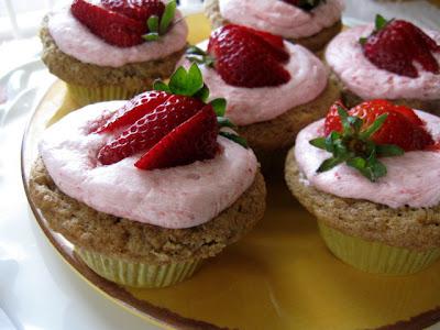 Namaste Strawberry Cake