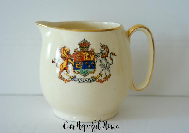 Royal Winton Grimwades Canada china creamer