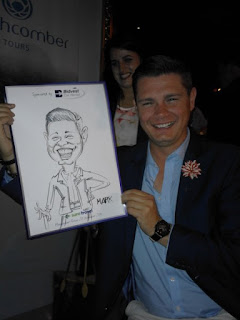 live event caricature Johannesburg South Africa