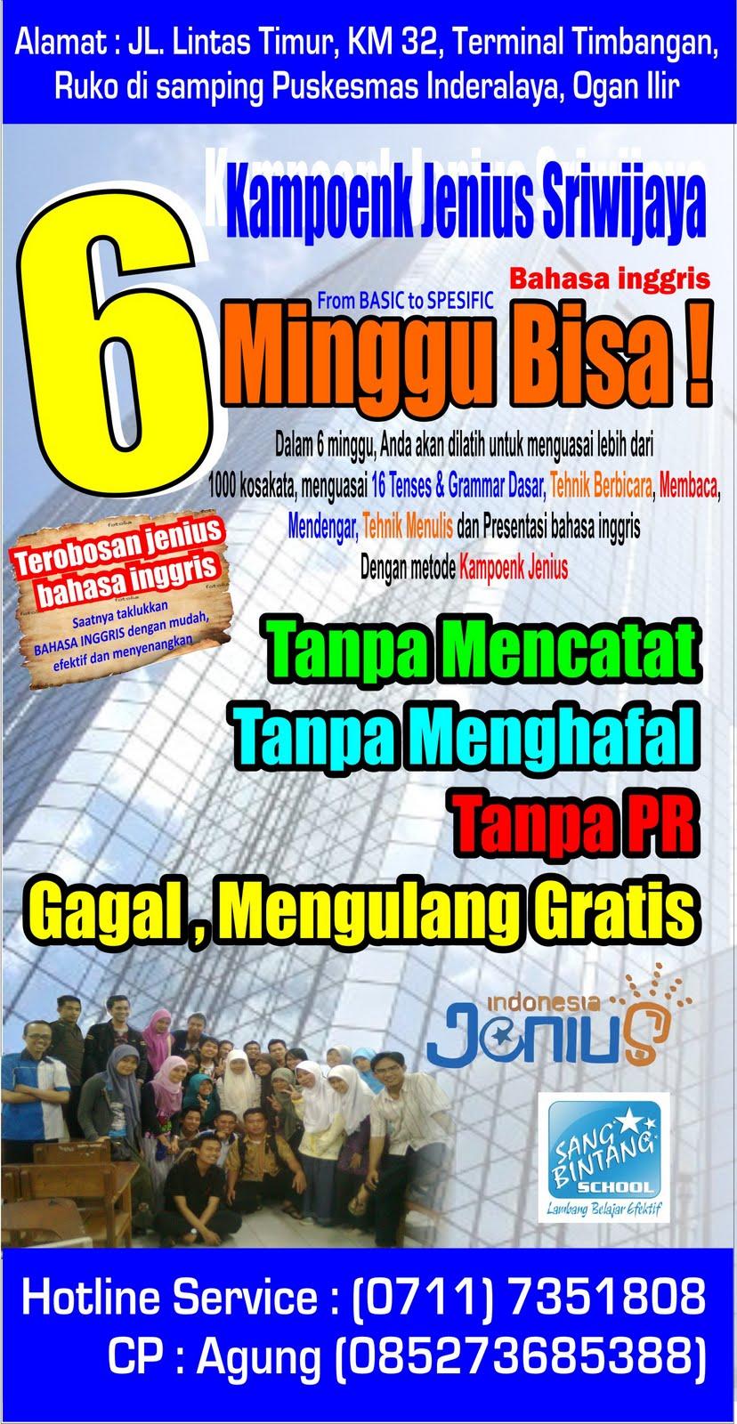 Contoh Brochure Program - Fontoh