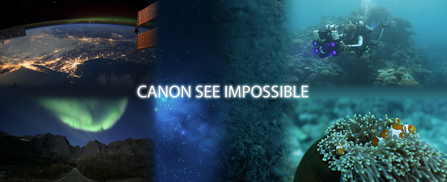 "Pushing Visual Boundaries Deep Under the Sea, On Land and Up into Space, Canon U.S.A. Unveils New ""Canon See Impossible"" Videos"