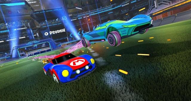 الإعلان عن حجم لعبة Rocket League بنسخة جهاز Nintendo Switch