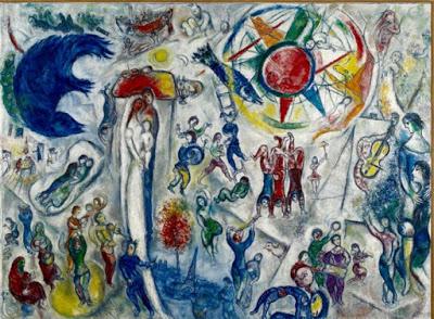 Tutta la vita di chagall in un quadro solo cesim centro studi e