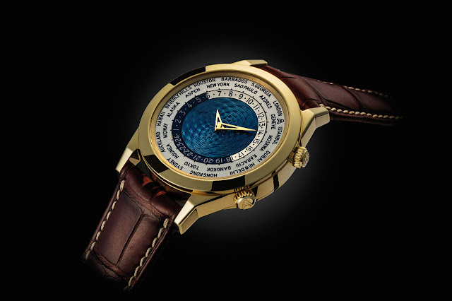 Andersen Genève Tempus Terrae 25th Anniversary Blue Gold Dial Automatic Watch