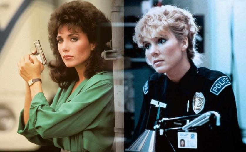 Stepfanie Kramer Cynthia Rhodes sexy 1980s cops policewoman