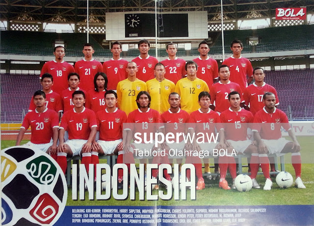 Poster Timnas Indonesia 2008
