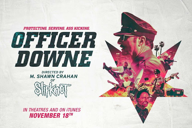 Officer Downe (2016) 720 WEB-DL Subtitle Indonesia