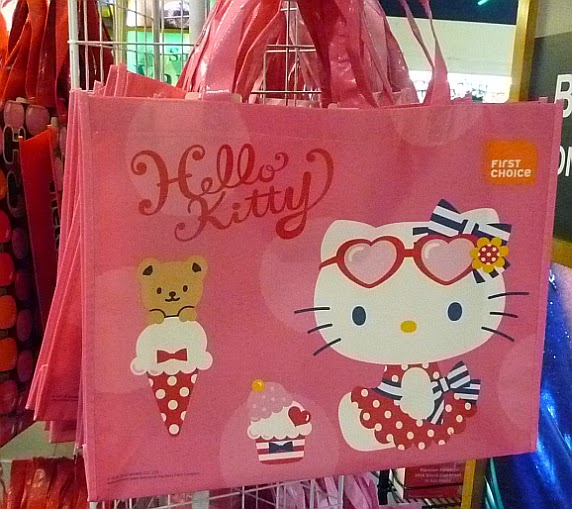 The previous batch of Hello Kitty Eco Bags is sold out and now there is a new  batch. Are these bags nicer than the previous designs  03e683d432d91