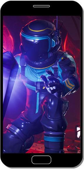 Fortnite Battle Royale Astronaute Surprise - Fond d'Écran en FHD pour Mobile