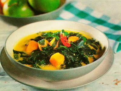 Gambar Resep Sayur Katuk Labu Kuning